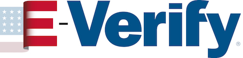 E-Verify logo.